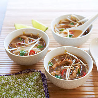 Vietnamese Pork-Rice Noodle Soup.