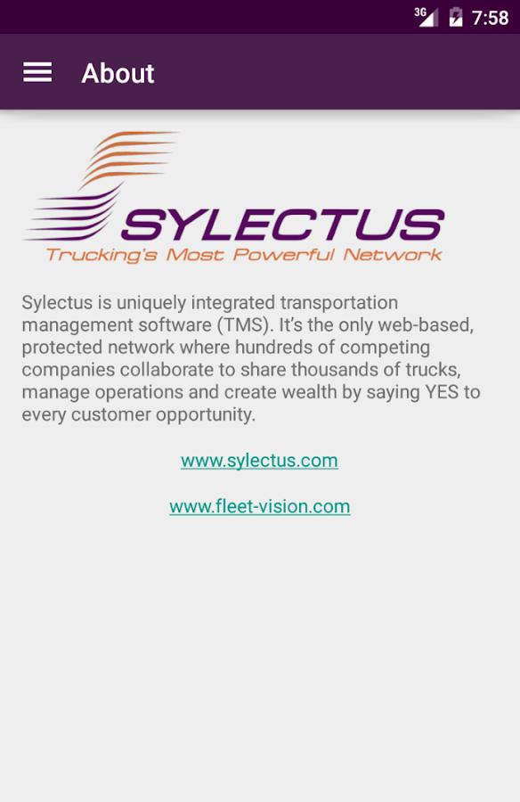 Sylectus Mobile- screenshot