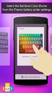【免費生產應用App】ai.type Rainbow Color Keyboard-APP點子