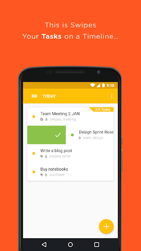 Swipes - To-Do Task List