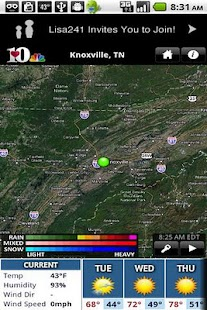 WBIR10 WX - screenshot thumbnail
