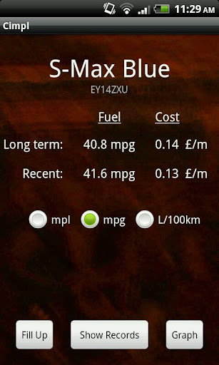 Cimpl Fuel Tracker