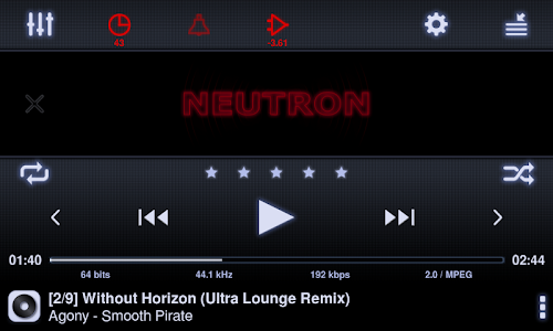 Neutron Music Player screenshot 8
