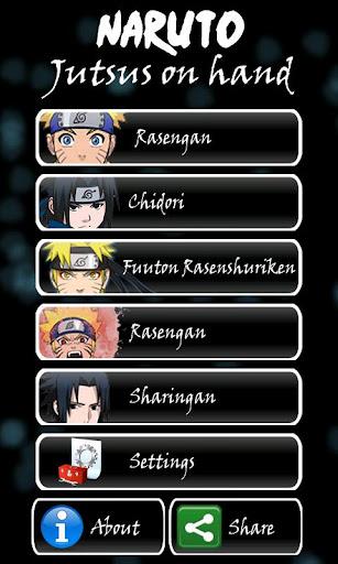 Naruto Jutsus on Hand - Identi  Naruto Jutsus o...