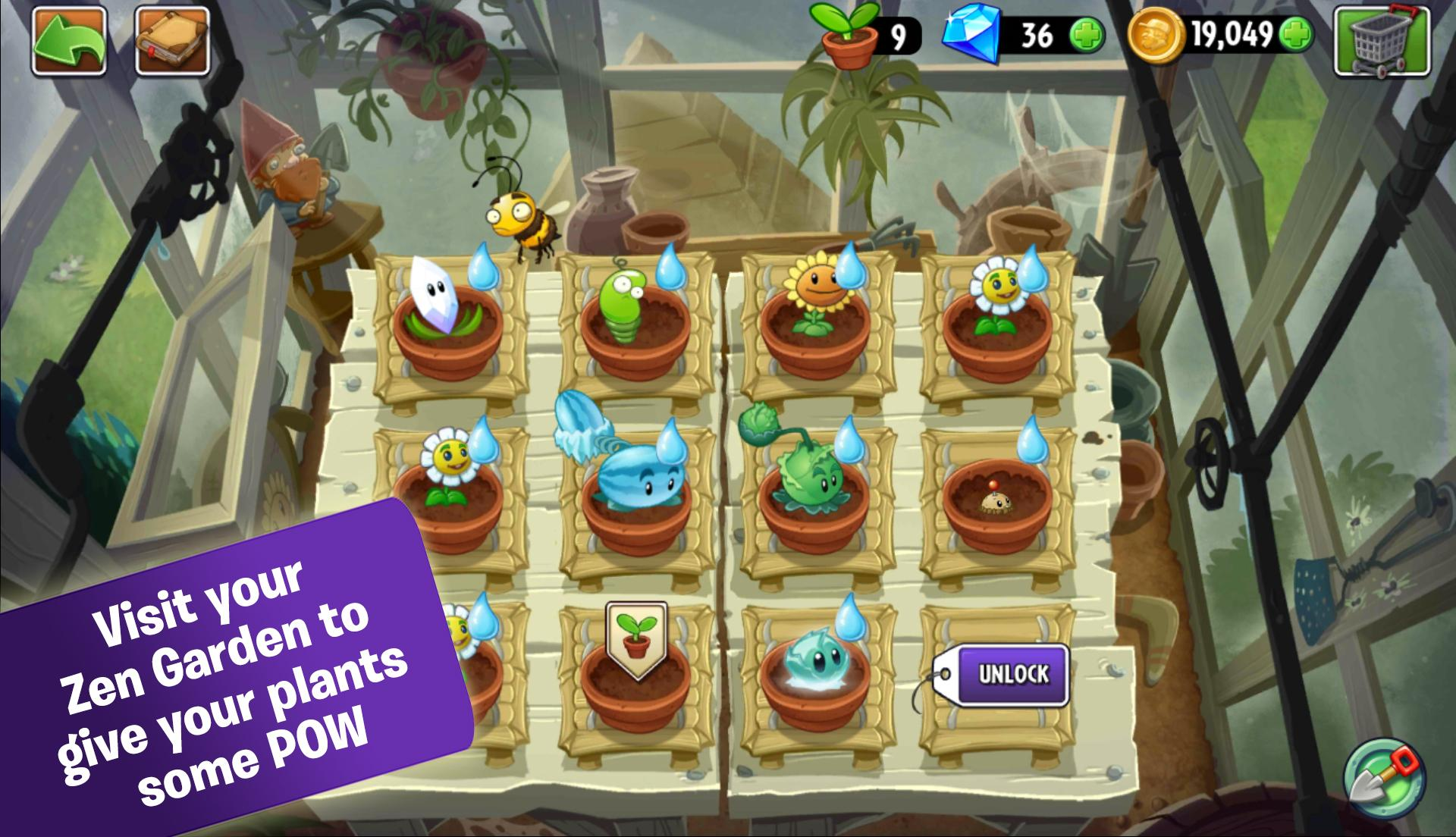 Plants vs. Zombies 2 screenshot #4