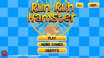 Screenshot of Run Run Hamster Free
