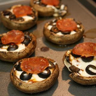 Portabella Pizza Bites Recipe
