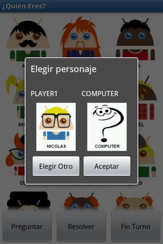 Who are you?- screenshot