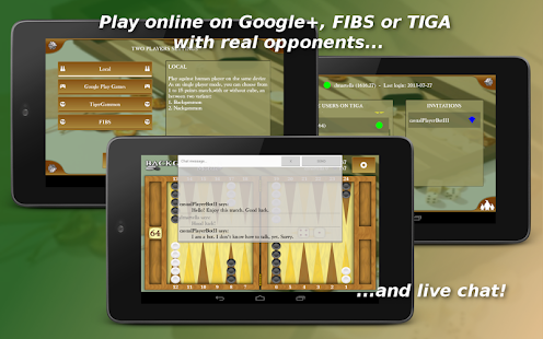 Backgammon Mobile - Online- screenshot thumbnail