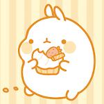 Molang Donut Yellow Atom theme