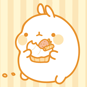 Molang Donut Yellow Atom theme download