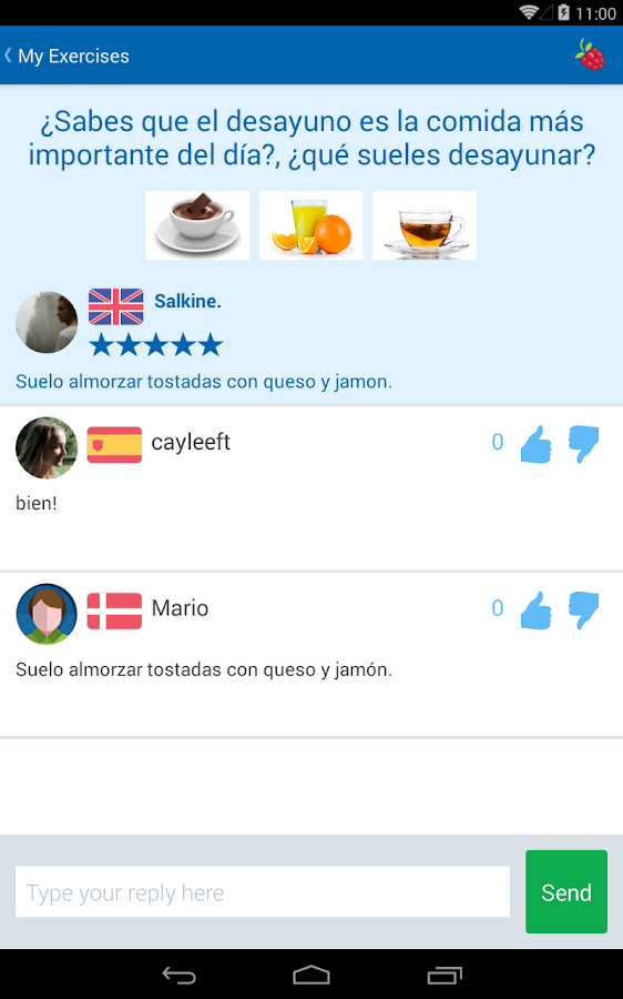 Learn Languages - busuu - screenshot