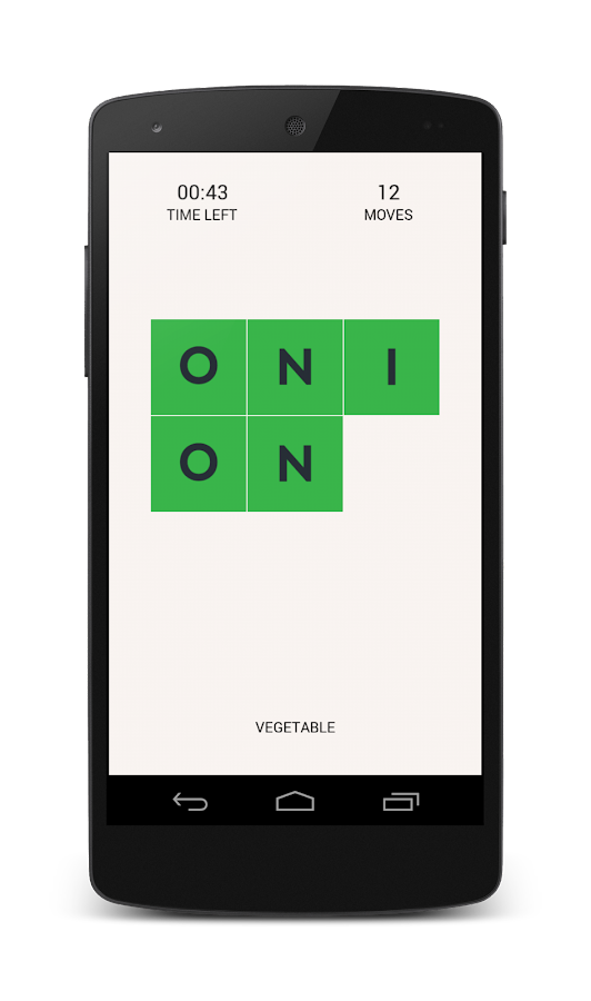 LettersPlay: A Word Puzzle - screenshot