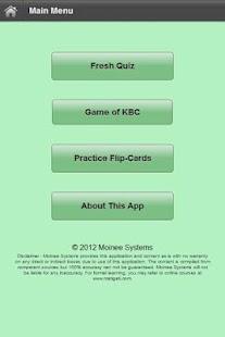 UPSC Quizzes 1- screenshot thumbnail