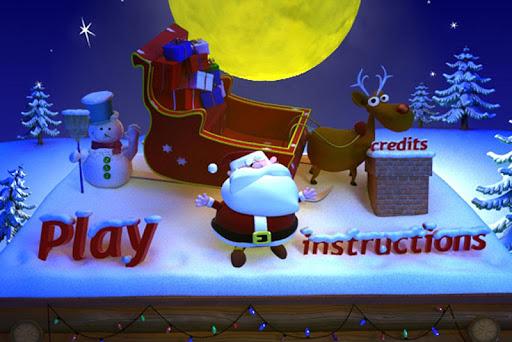 聖誕老人和他的馴鹿