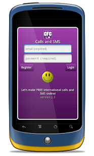 CFC Free Phone Calls and SMS - screenshot thumbnail
