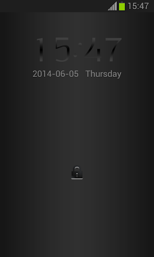 锁屏的的Nexus 5