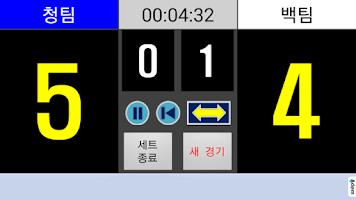 Screenshot of 점수판