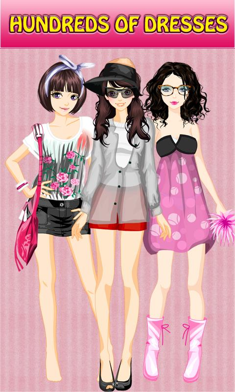Dress Up! Lace Style - screenshot