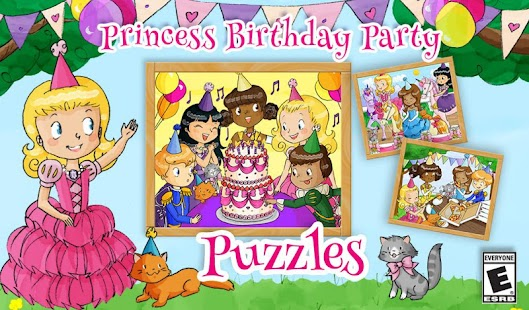 Princess Party Puzzle Game - náhled