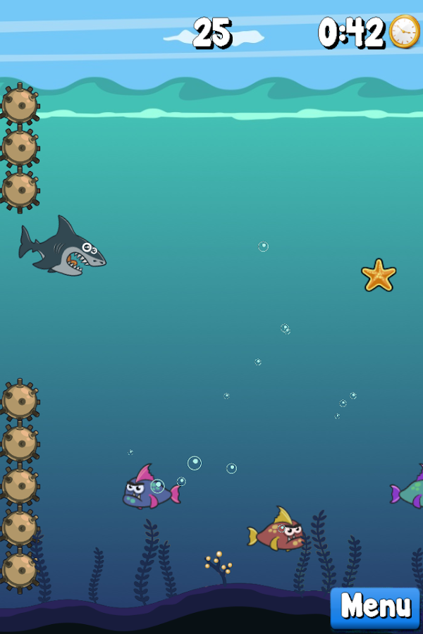 Splashy Sharky- screenshot