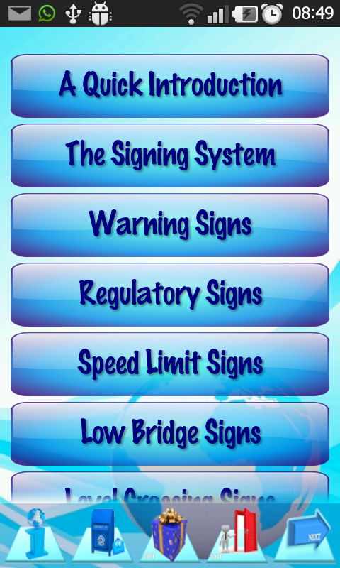 Driving  Rules & Traffic Signs- screenshot