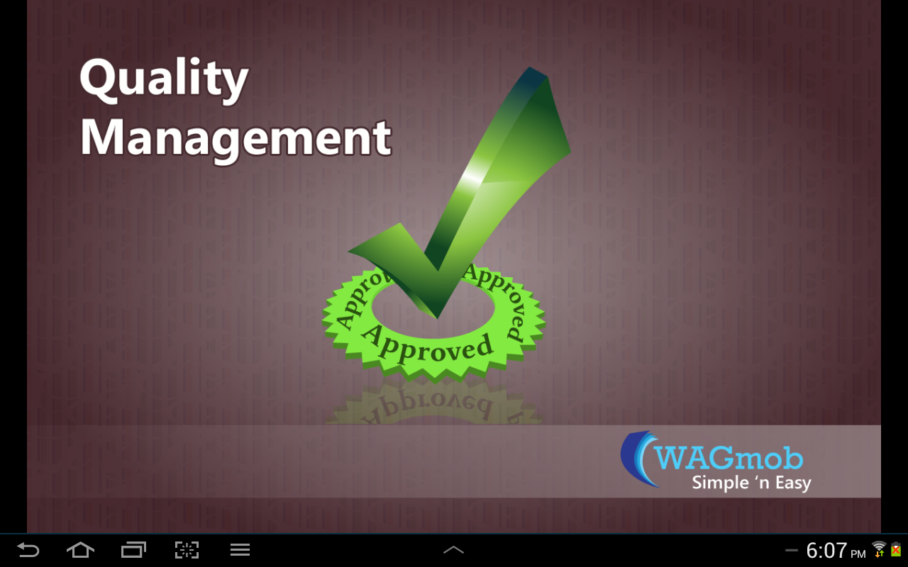 Quality Management - screenshot