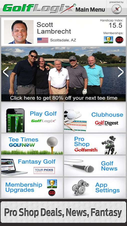 GolfLogix #1 Free Golf GPS App - screenshot