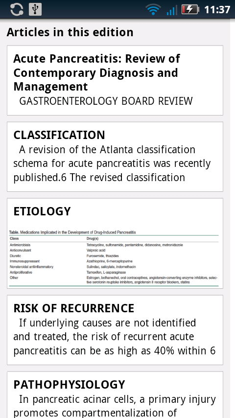 Gastroenterology Board Review - screenshot