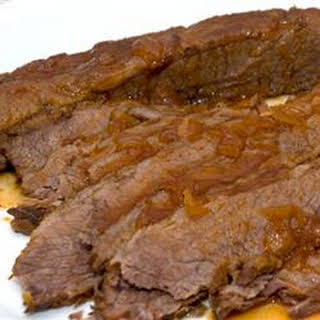 Jewish Style Sweet and Sour Brisket.