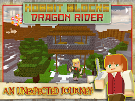 Screenshot of Hobbit Blocks - Dragon Rider