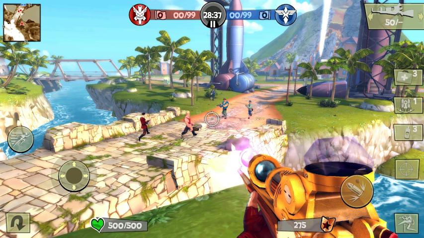 android Blitz Brigade - FPS en ligne ! Screenshot 5