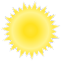 Sunny Battery Widget logo