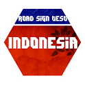 Indonesia Road Sign Test icon