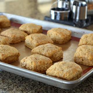 Lightly Spiced Sweet Potato Biscuits