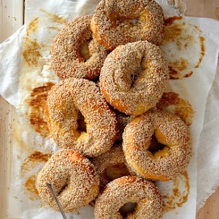 Homemade Montreal Bagels.