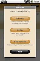Screenshot of Wordtiger - language learning