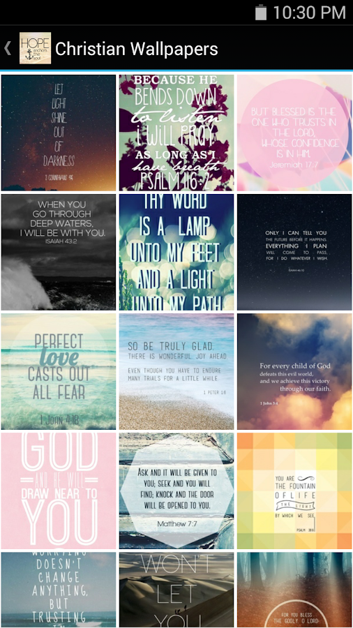 Christian Wallpapers- screenshot