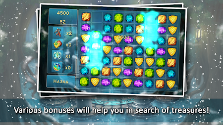 Forgotten Treasure 2 - Match 3 APK screenshot thumbnail 8