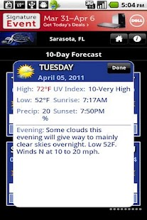 SuncoastWx- screenshot thumbnail