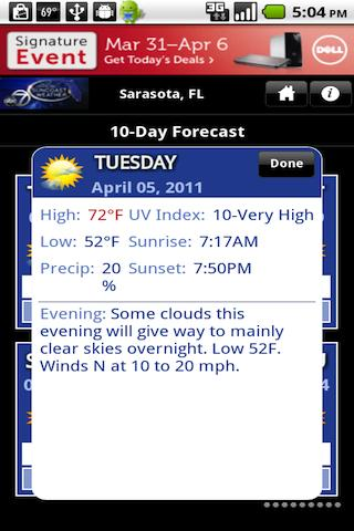 SuncoastWx - screenshot