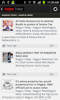 Screenshot of Nagpur Today News