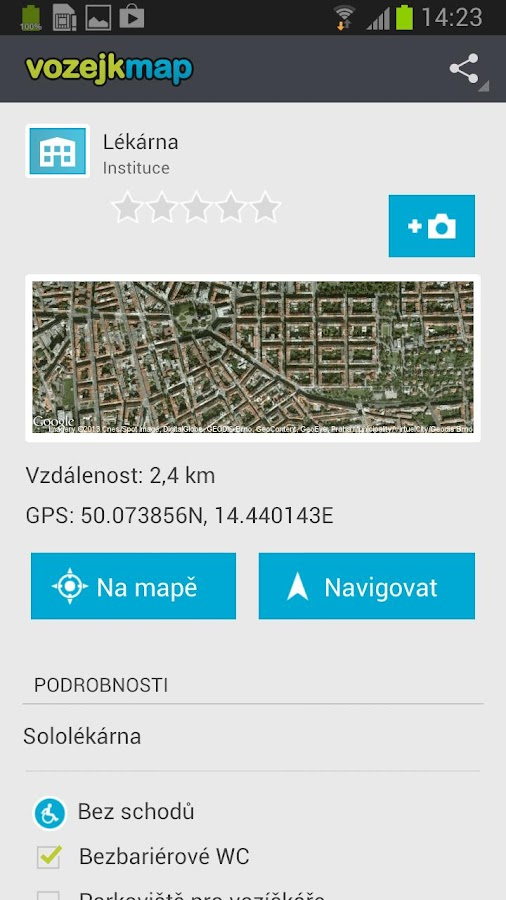 VozejkMap- screenshot