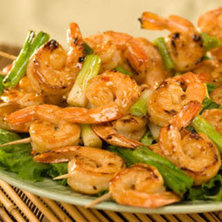 Far East Shrimp Kabobs