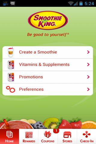 My Smoothie - screenshot
