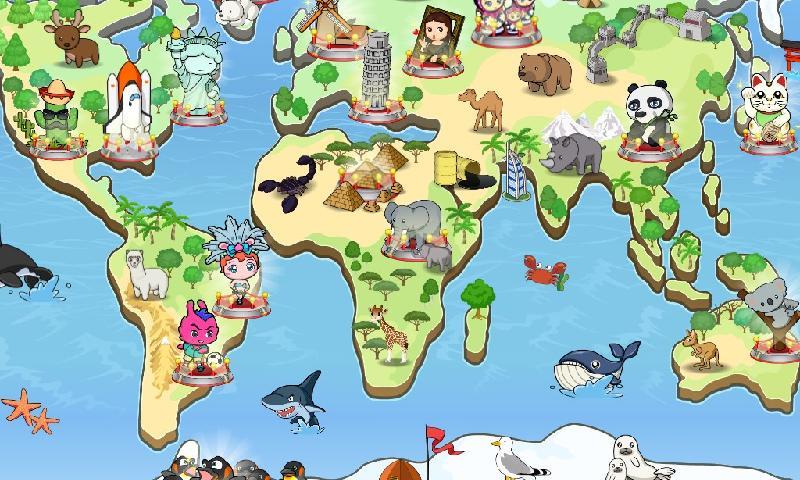 과일토끼 유아백과 - 작고 큰 세계(Free) - screenshot