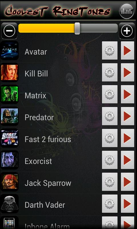 Coolest Ringtones- screenshot