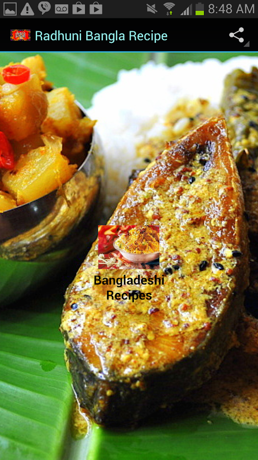 Radhuni Bangla Recipes - screenshot