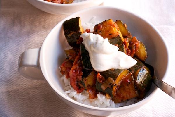 Zucchini and Tomato Curry Recipe