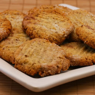 Sugar-Free and Gluten-Free Cookies with Almond and Flaxseed Meal (Gluten-Free).
